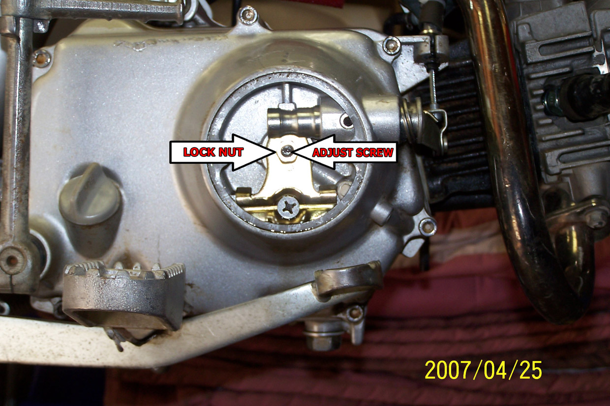 CT70H clutch adjustment | PlanetMinis Forums