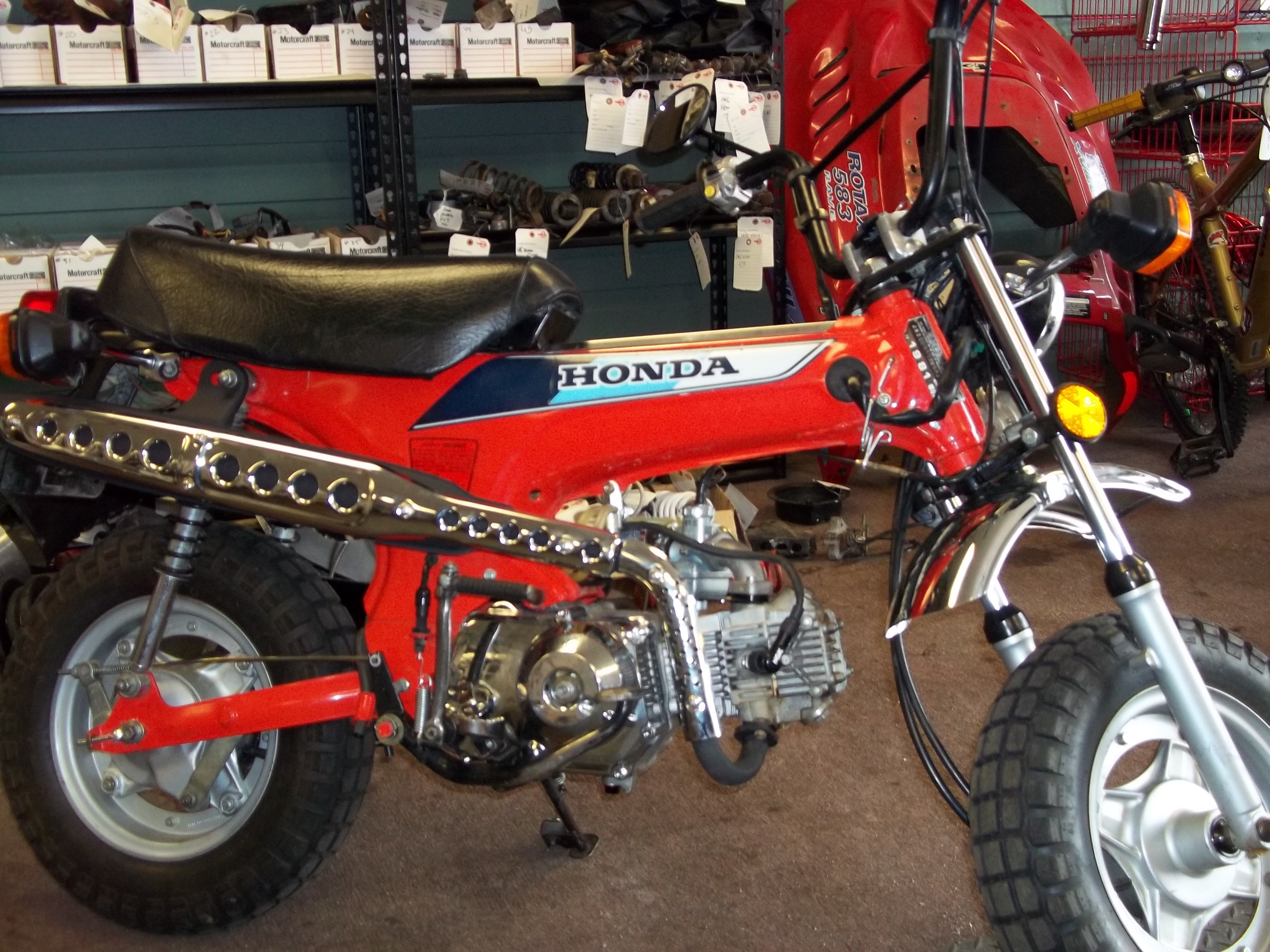 Lets See Everyones Ct70 And Dax Page 35 1970 Honda Sapphire Blue Click Image For Larger Version Name 005