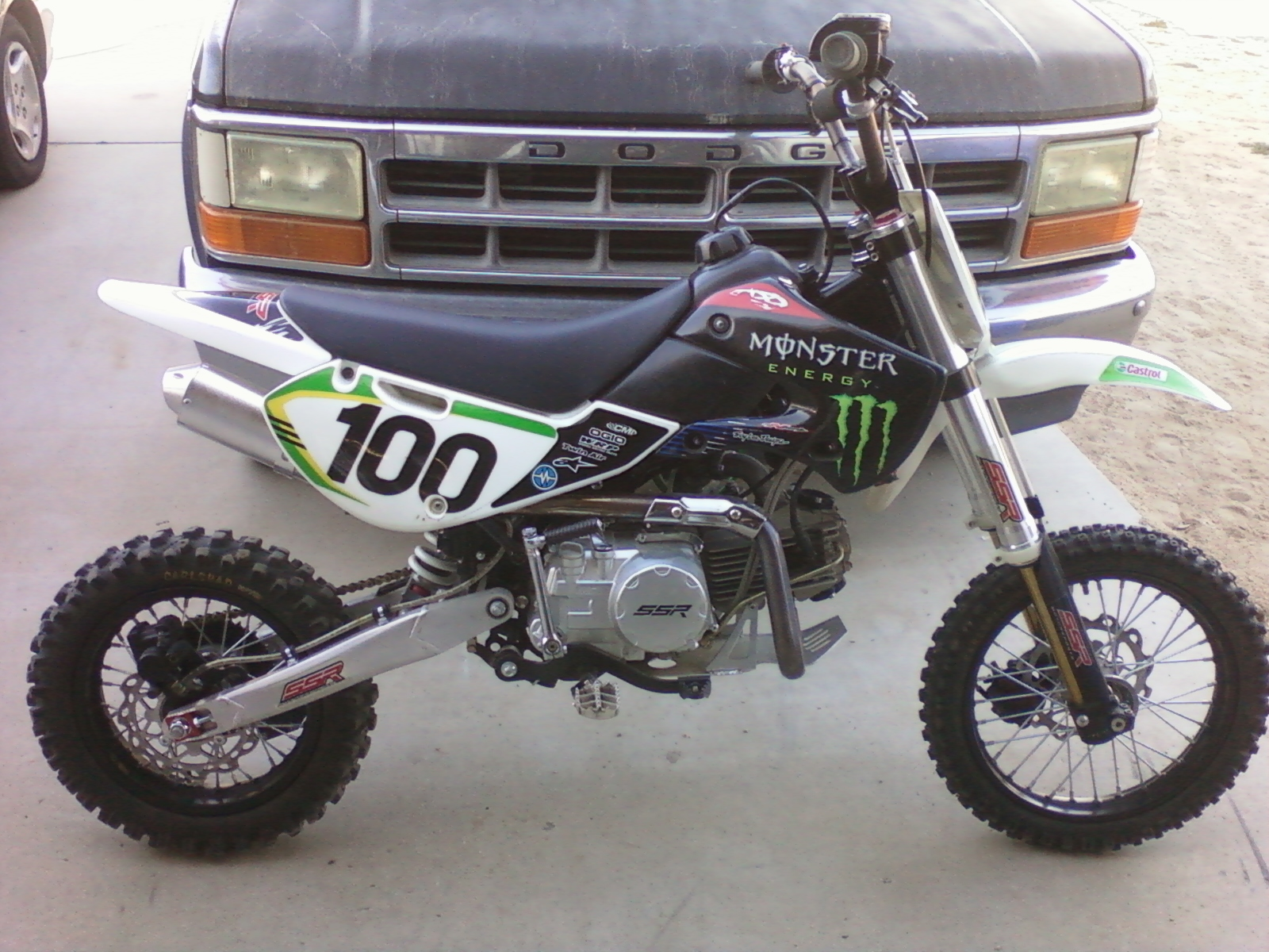 My New Pit Bike