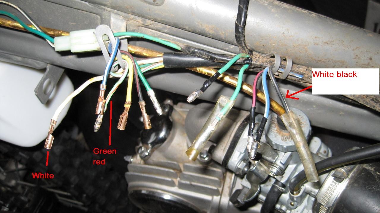 5 Wire System Loom How To It Up Need Help Please Cdi Wiring Harness Click Image For Larger Version Name 125ccloom Views 8423 Size