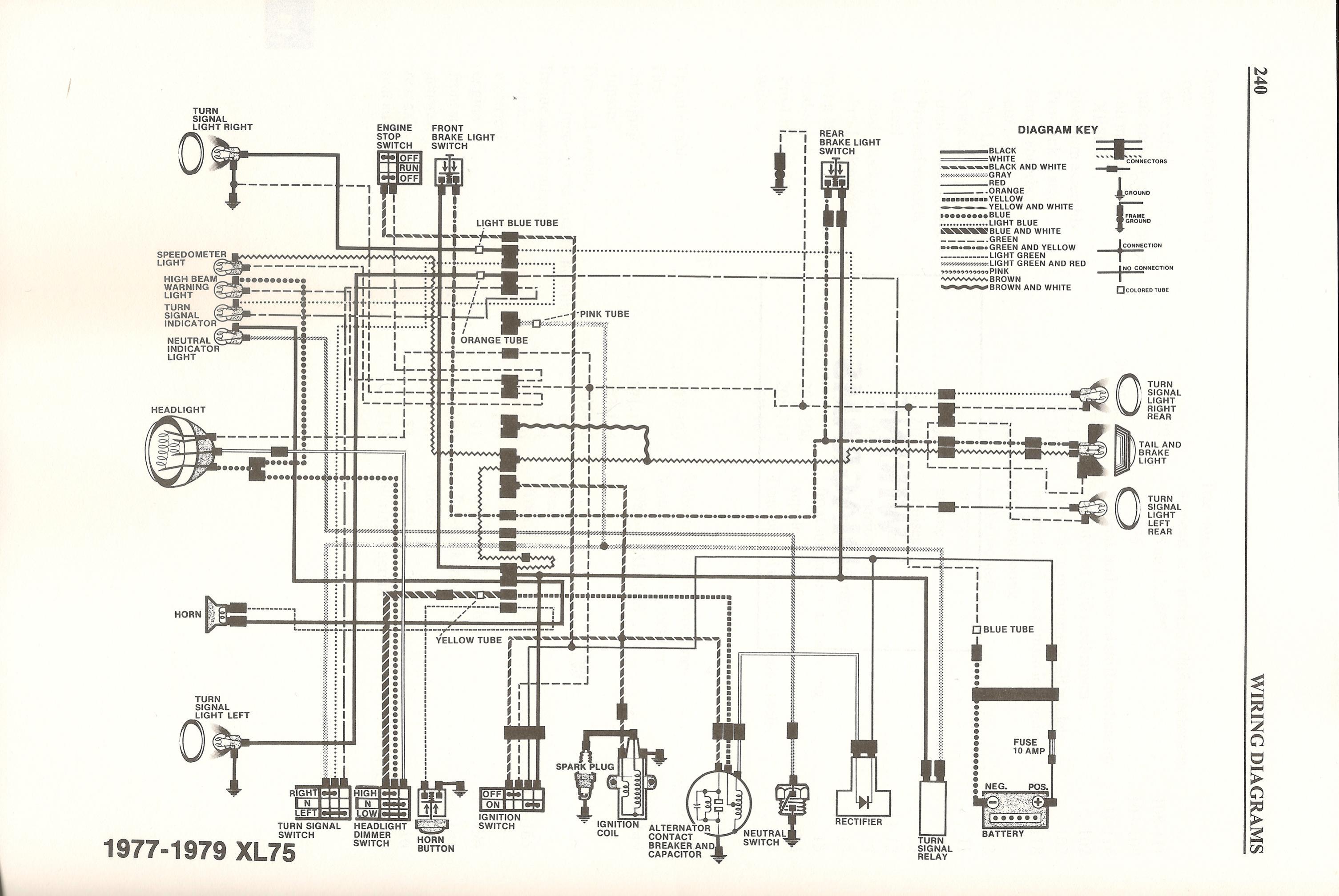 Honda Xr75 Wiring Great Design Of Diagram Xl350 Electrical Diagrams For A 1977 U2022 1978