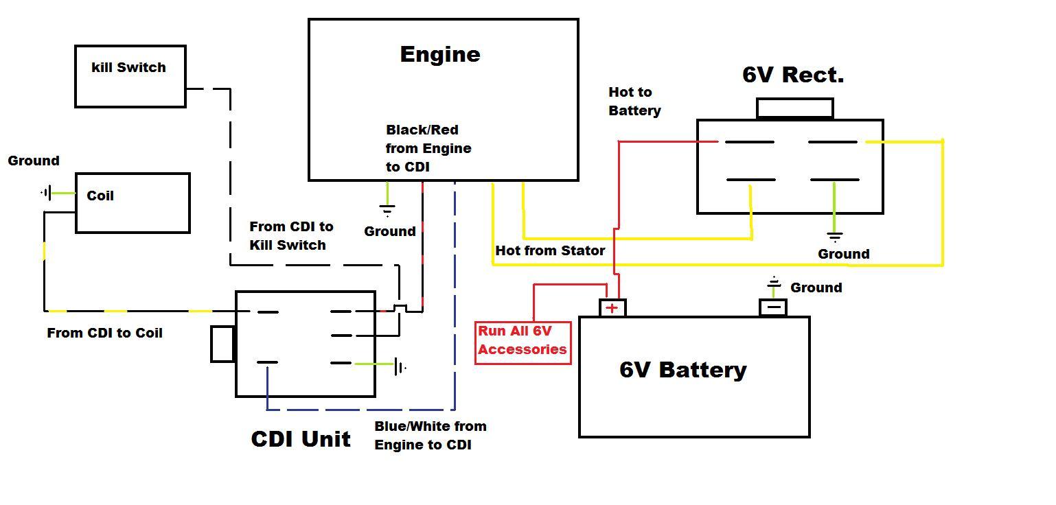 1971 k2 z50 w/ 12v cdi conversion, need wiring diagram - page 2, Wiring diagram
