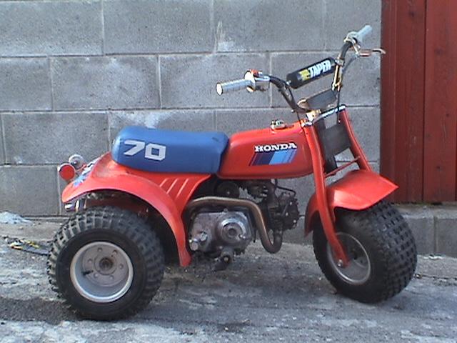 Not A Mini Bike But A Honda Atc 70 88cc Big Bore Kit Question