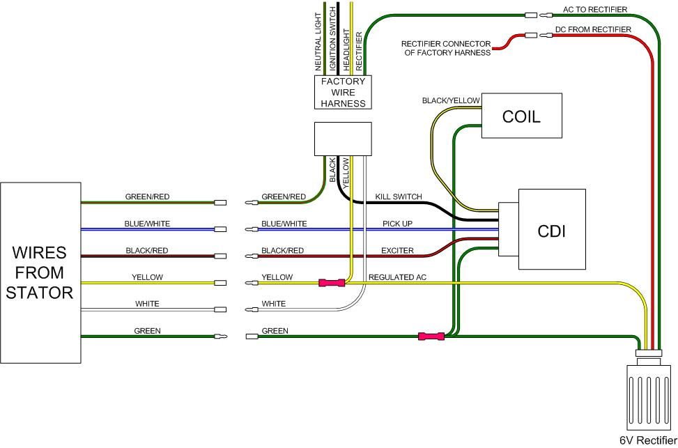 Ct70 12 Volt Wire Harness - Wiring Diagrams Honda C E Wiring Diagram on