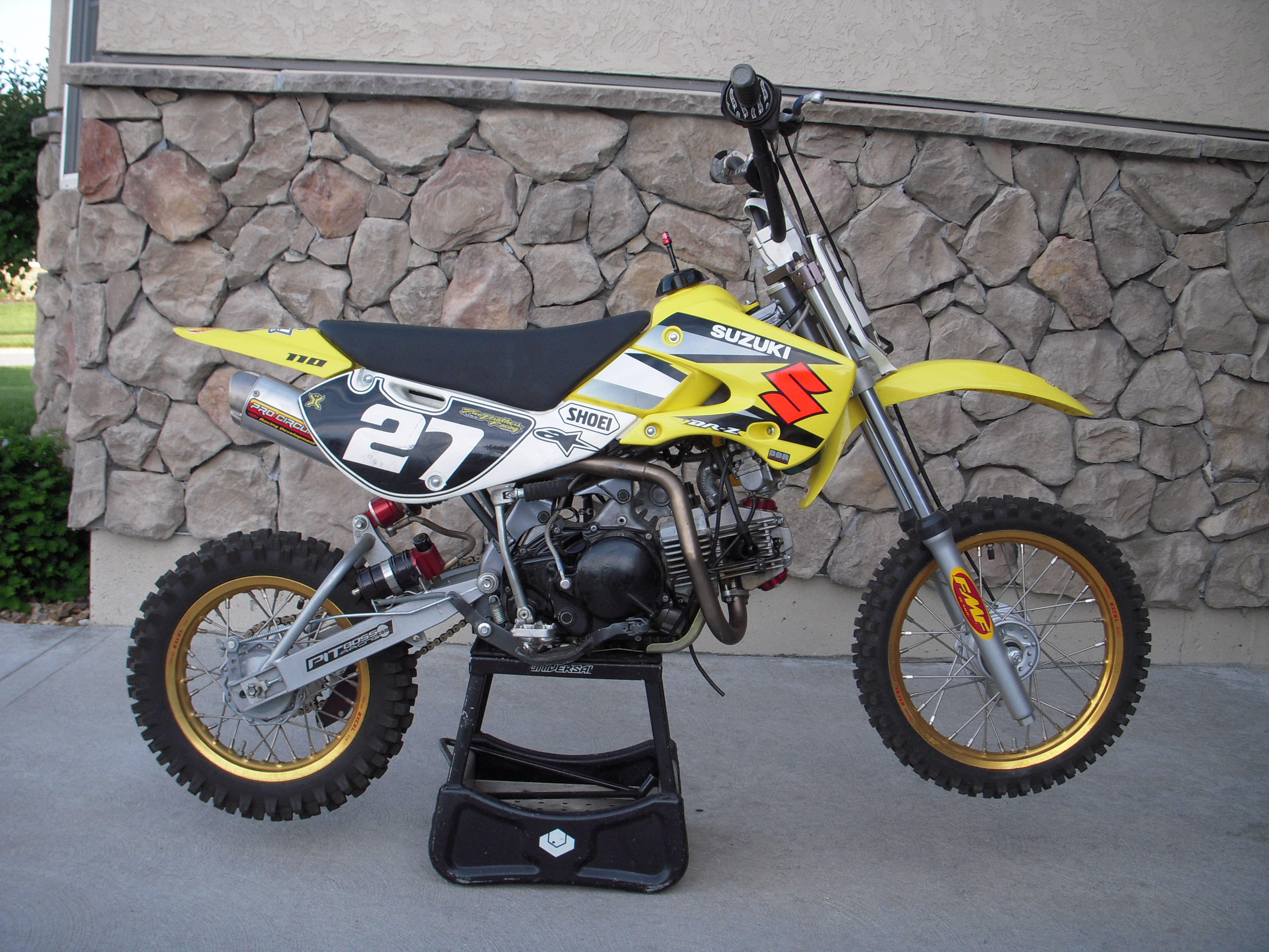 2005 drz 110 / 138 +r for sale