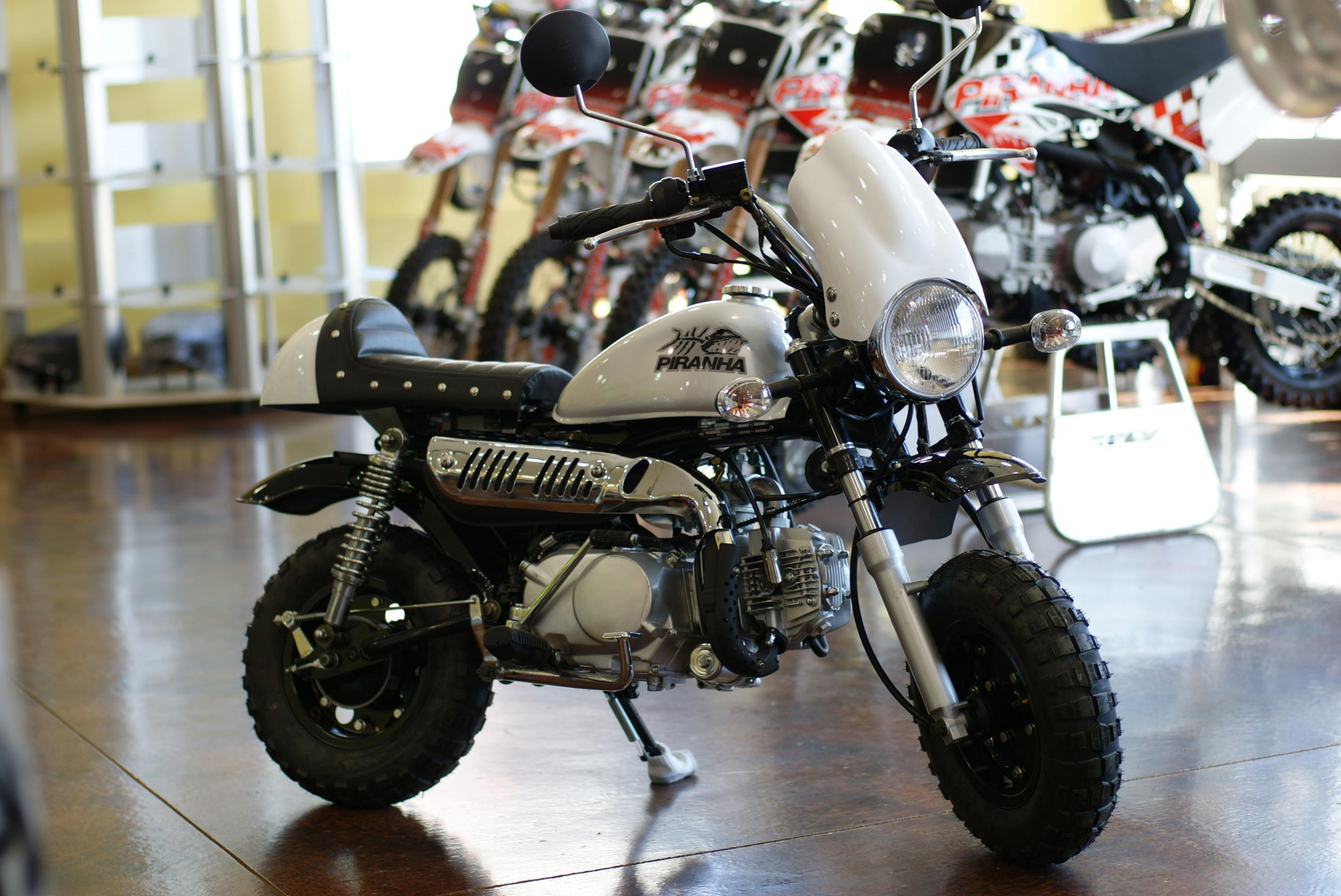 Cafe Racer Seat And Windscreen Kit For Honda Z50 Monkey