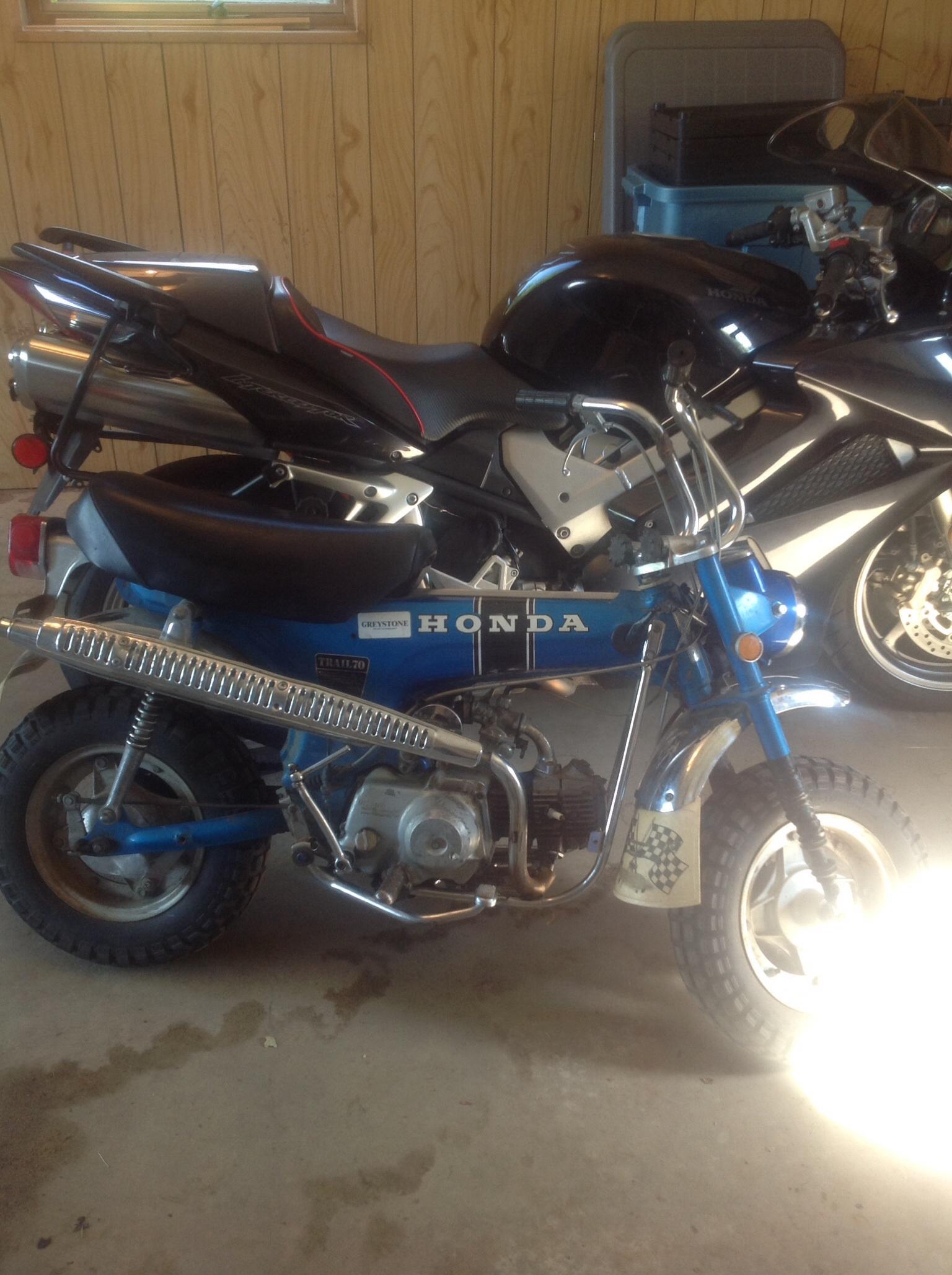 69 Ct70 Kickstart Wont Turn Engine Help Please 1970 Honda Spark Plug Click Image For Larger Version Name Views 154 Size