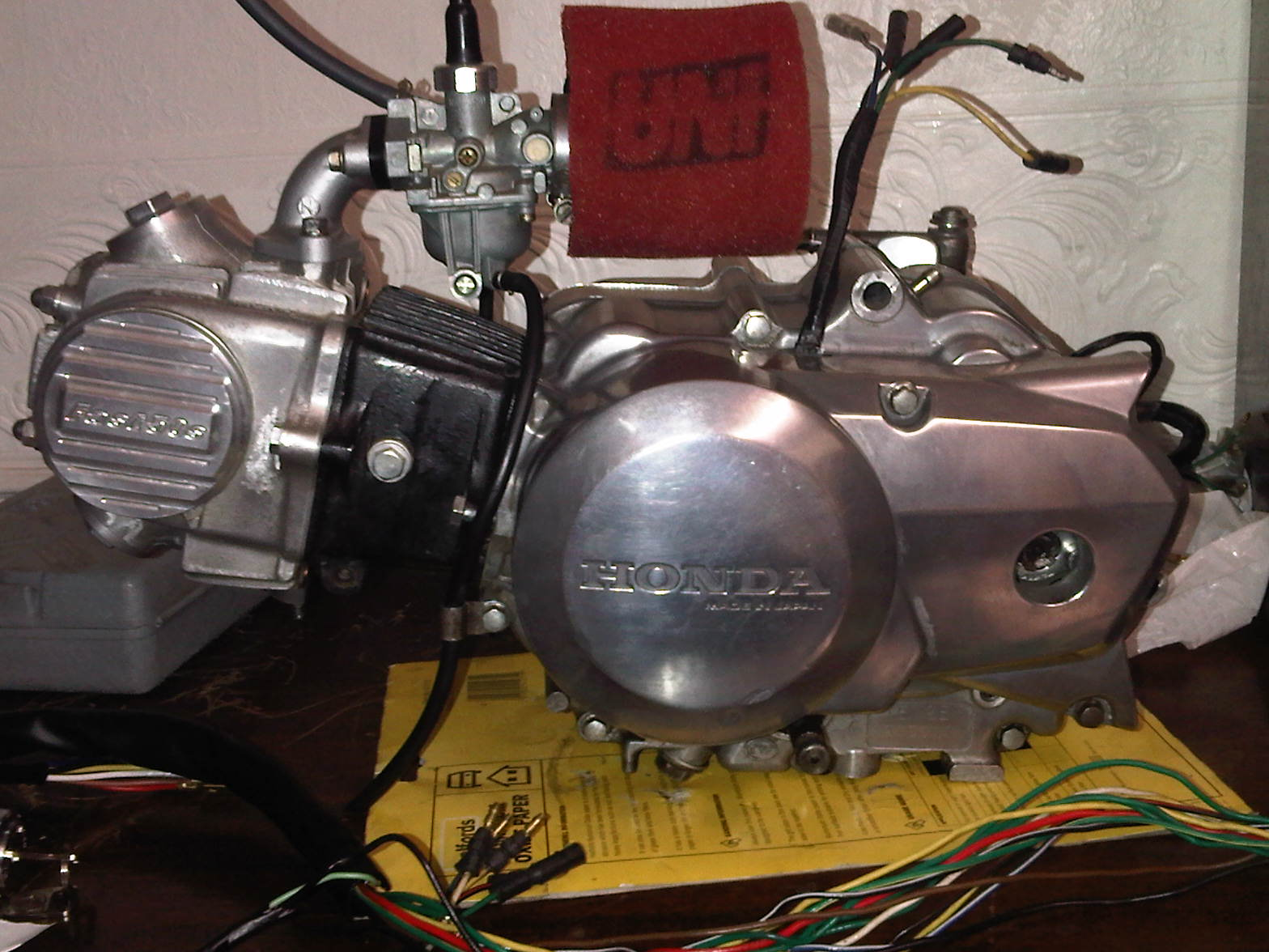 The Poor Mans Nice 12v Electrical Wiring Diagram Of Honda Z50jp Click Image For Larger Version Name Img00035 20110224 2214 Views