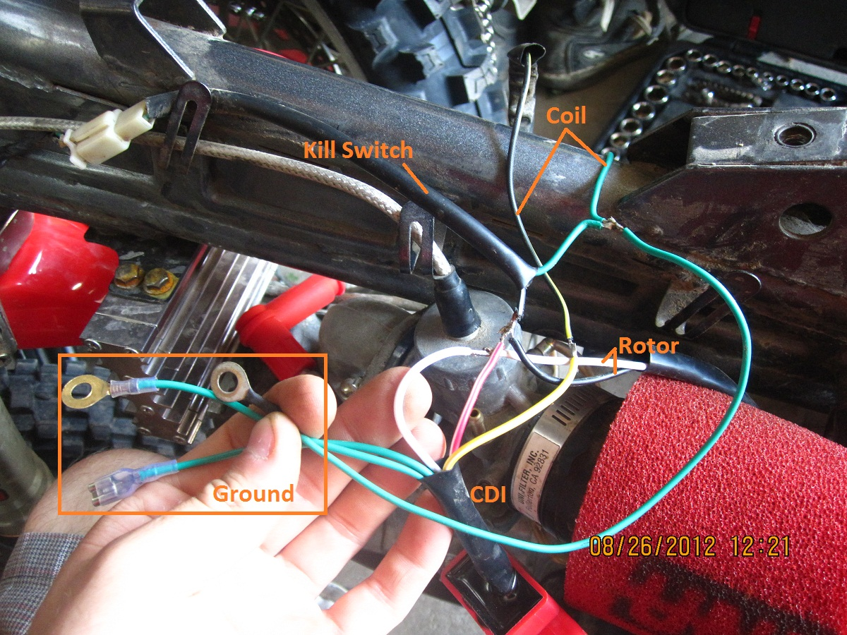 Wiring Inner Rotor Kit In X2 Pitster Crf50 Diagram Click Image For Larger Version Name Img 0107 Views 2039 Size
