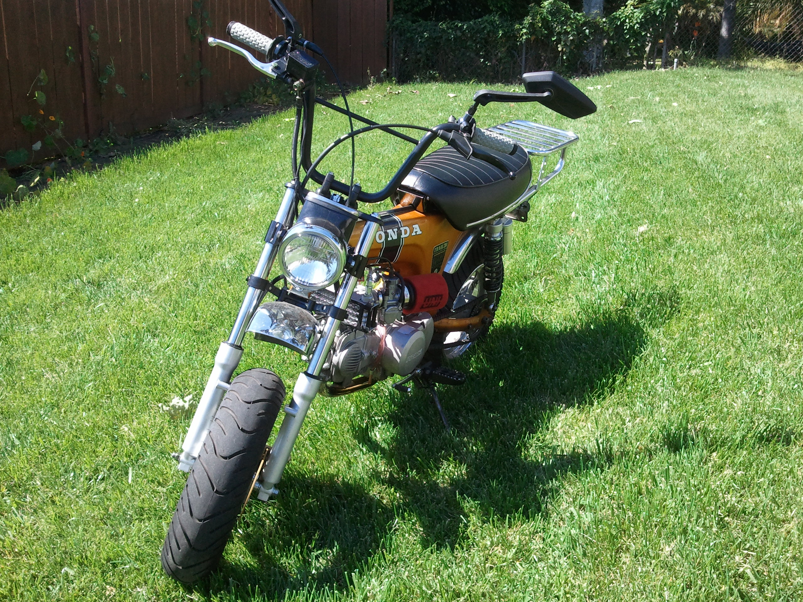 1970 Candy Gold Honda Ct70 Full Mod 150cc Yx 12 Wheels Pitster X4m Wiring Pit Bikes Thumpertalk Click Image For Larger Version Name Img 20120310 114156 Views 225 Size