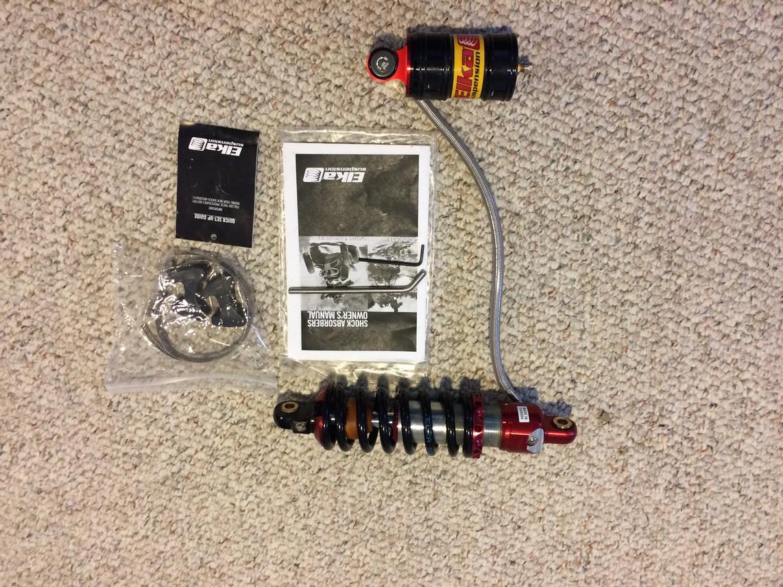 Elka rear shock for A-style swingarm – KLX110
