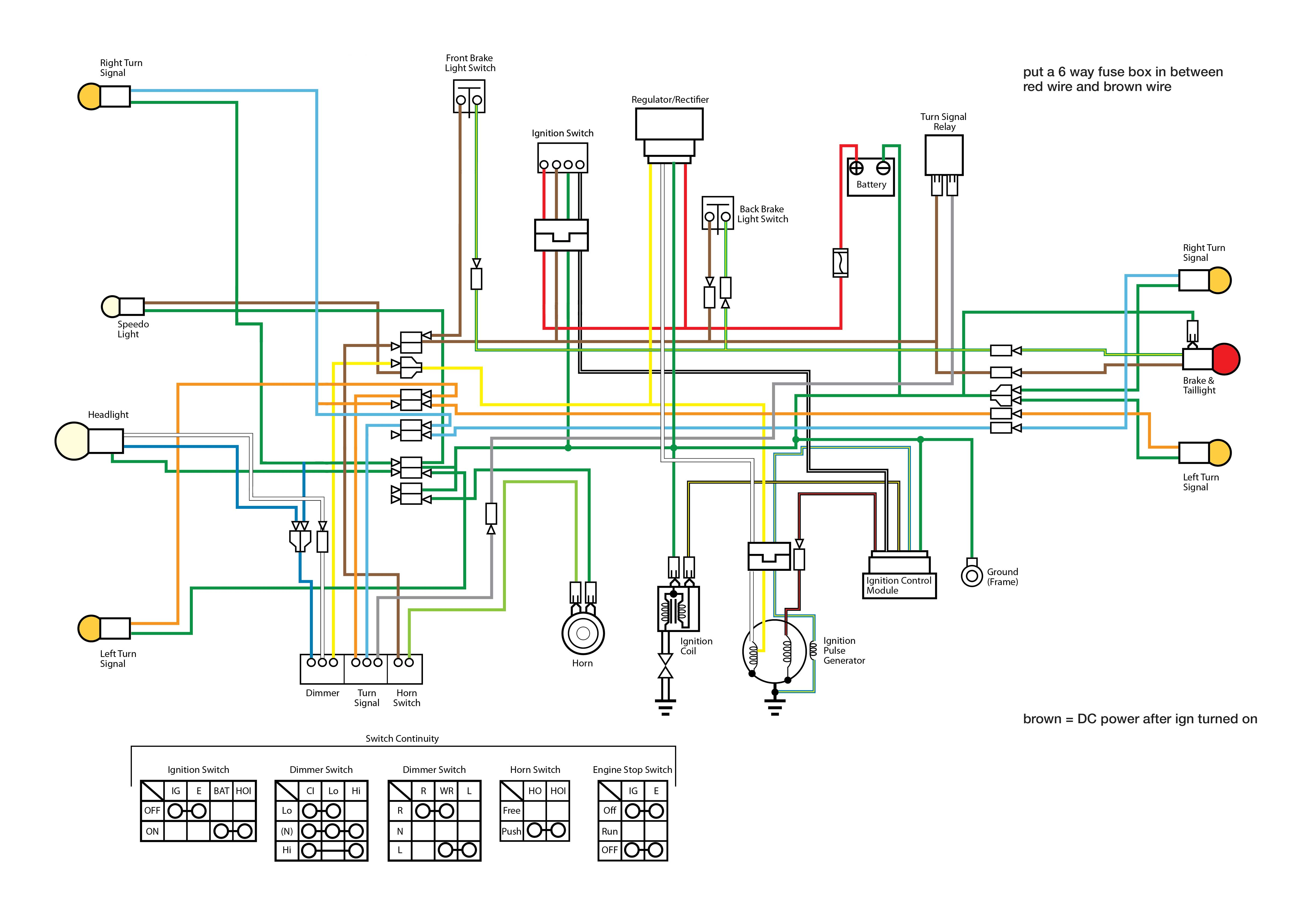 lifan 125 wiring diagram wiring diagram lifan 125cc wiring diagram auto