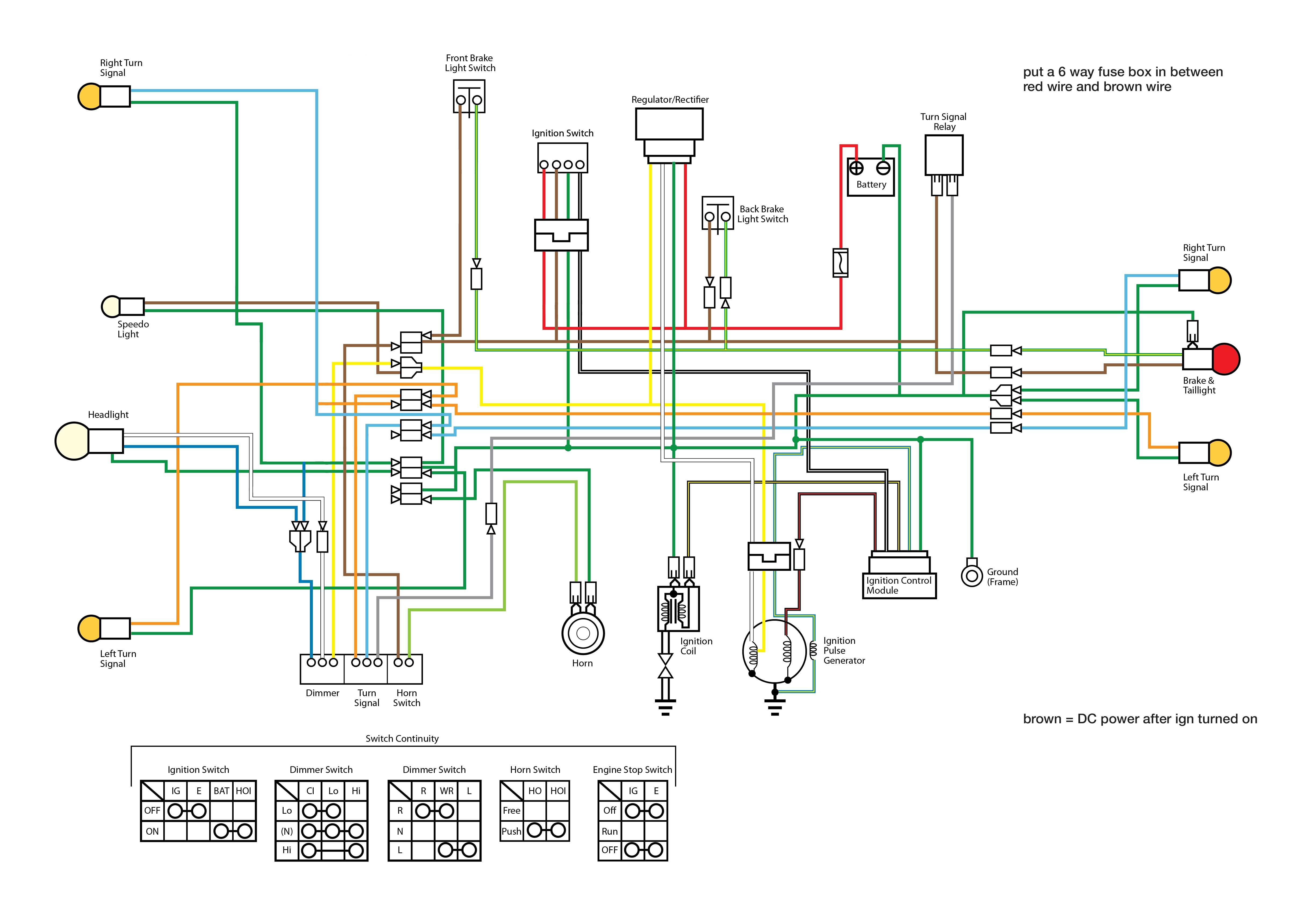 100 Lifan Wiring Diagram – Lifan 200cc Wiring Ignition Diagram