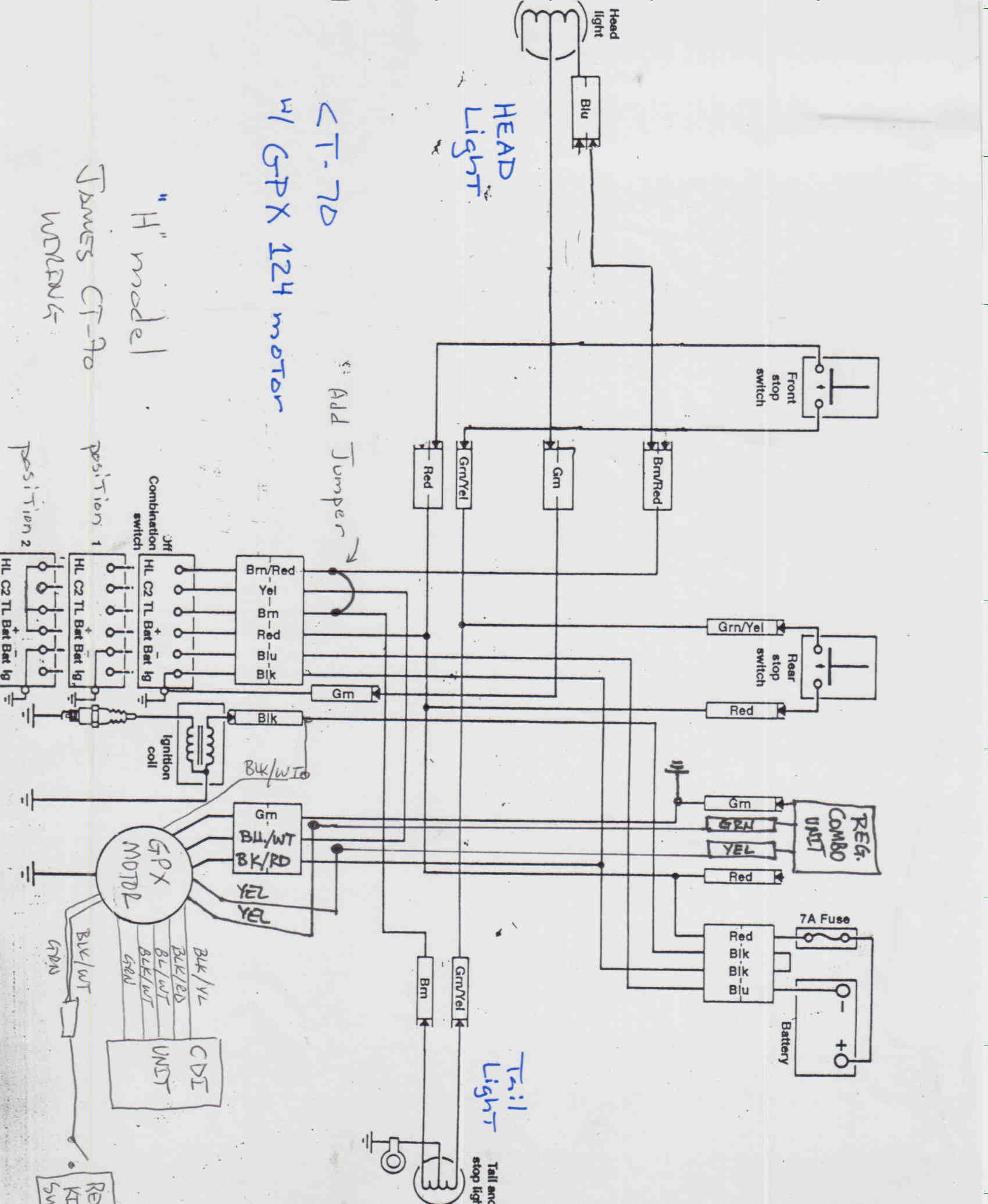 crf import wiring guide - page 2 250cc chinese atv wiring diagram