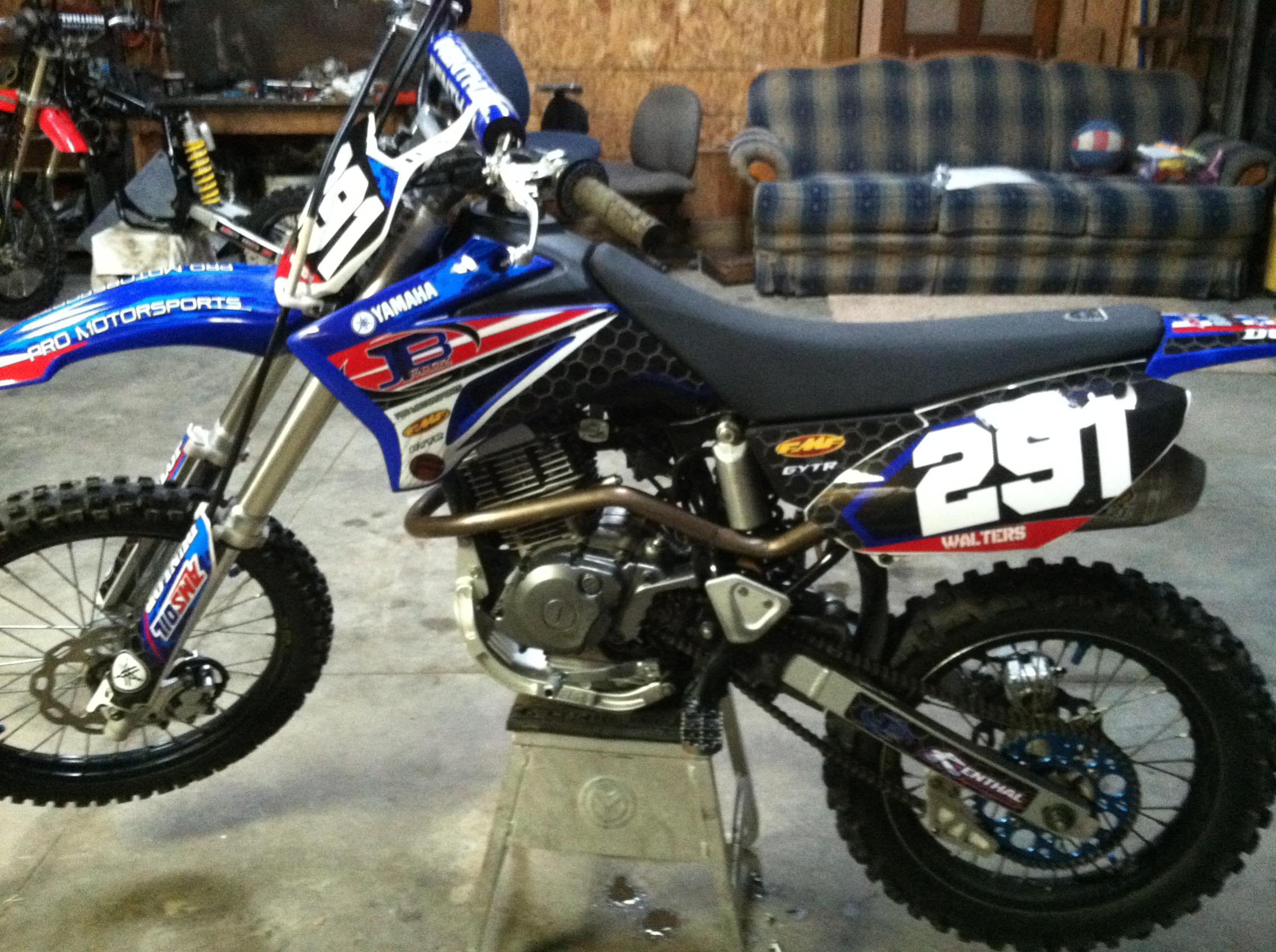 2011 Ttr 125 Fully Moded For Sale