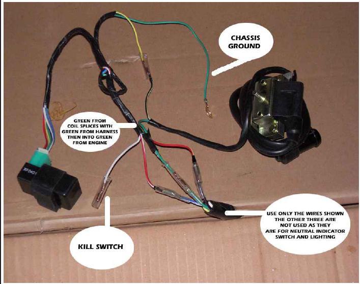zongshen 125cc wiring diagram (homemade), Wiring diagram