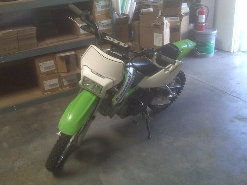 Street legal KLX project begins    | PlanetMinis Forums
