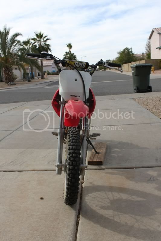 Admirable My New Crf70 And Questions Planetminis Forums Machost Co Dining Chair Design Ideas Machostcouk