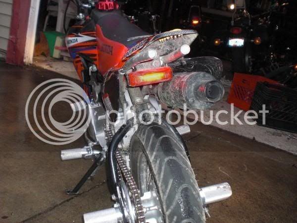CRF50 Dual Sport Kit HELP w/pix,price,install   PlanetMinis