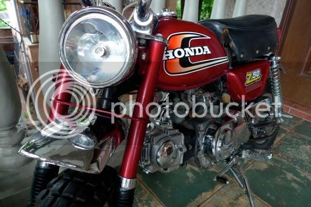 1975 Honda Z50 Ak6   PlanetMinis Forums