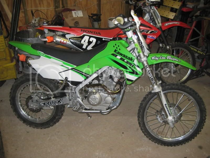 KLX 140L Exhaust Suggestion | PlanetMinis Forums