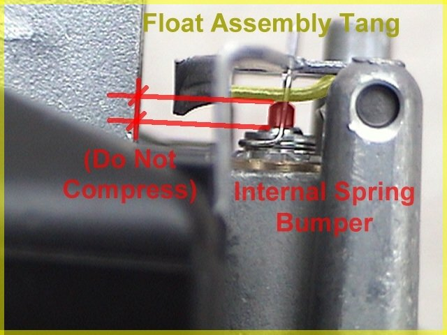KLX110 143 kit carb (VM26) leaking a ton of gas